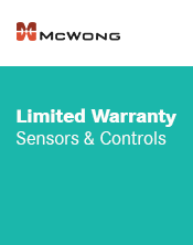 McWong Sensor & Controls Warranty